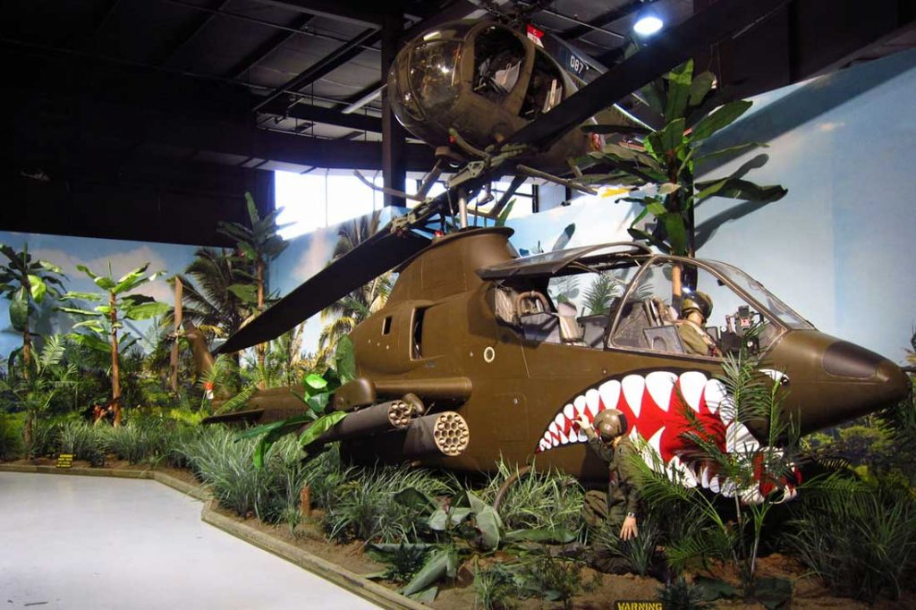 Vietnam War Helicopters Exhibit - Southern Museum of Flight